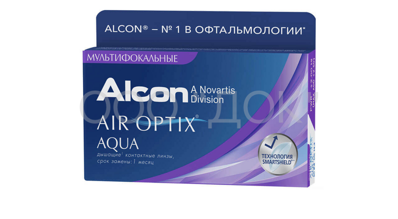 Air Optix Aqua Multifocal 3 линзы